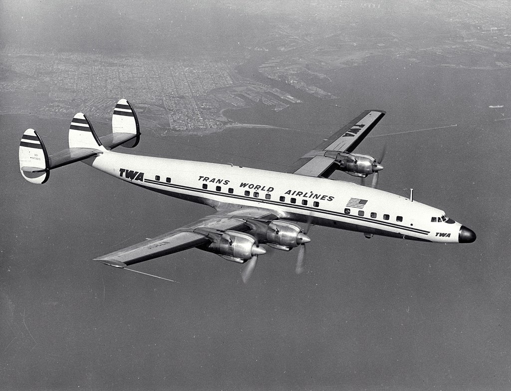1024px Lockheed L 1649 Constellation TWA