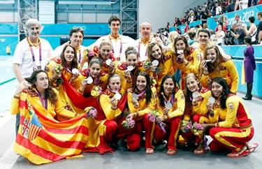 "El ""Dream Team"" del waterpolo espanyol"